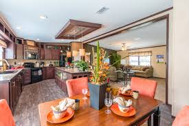 beautiful dining area and kitchen in the homerun model home by