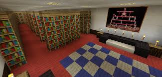 minecraft library room minecraft creations pinterest library