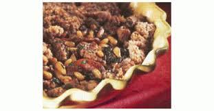 cuisine et vins de recette crumble d agneau aux figues aux abricots et aux pignons recette