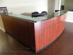 Laminate Reception Desk Client Installation Gallery Indoff Silicon Valley