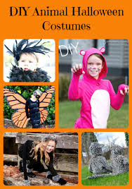 diy animal halloween costumes 5 minutes for mom