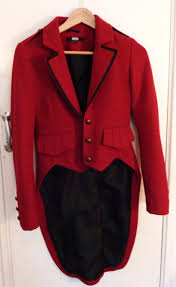 deluxe male ringmaster costume mens circus fancy dress lion asos red military jacket ringmaster style size 8 u2013 sold