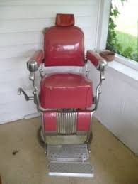 Antique Barber Chairs For Sale Koken Congress Model 500 Octagon Barber Shop Chair Rare Original