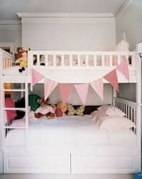 Ikea White Bunk Bed Ikea Bunk Painted White Room Overall Too Floral For Me But The