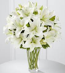 bouquet of lilies the ftd spirited grace bouquet vase inclu in highlands