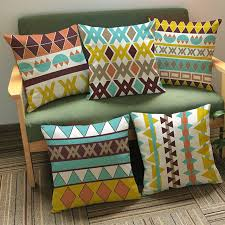 canapé style indien indien motif floral coussin asie du sud style tropical oreillers