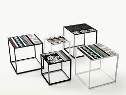 b u0026b italia canasta square side table couture outdoor