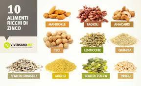 alimentazione ricca di proteine alimenti ricchi di zinco quali sono ecco 10 alimenti con zinco