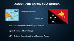 Equatorial Guinea Flag Papua New Guinea Abel Derderian English Presentation Ppt Download