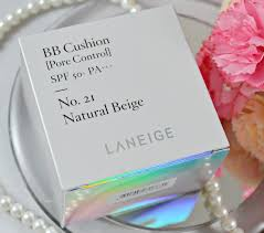 laneige bb cushion light medium laneige bb cushion pore control in no 21 natural beige all