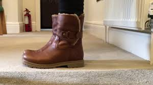 ladies biker style boots ladies biker style boots from panama jack youtube