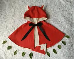 Baby Fox Halloween Costume Fox Tail Costume Etsy