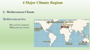Mediterranean Climate Map Physical Geography Of Europe Ppt Download