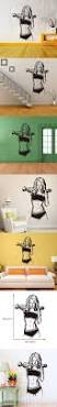 2935 best animal wall stickers images on pinterest wall stickers e livingstyle female dumbbell fitness removable wall sticker home wall decal for bedroom living