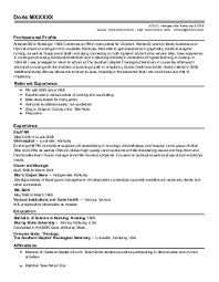 Resume Community Service Example Physics Section Materials