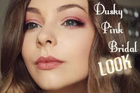 bridal makeup tutorial dusky pink bridal makeup tutorial