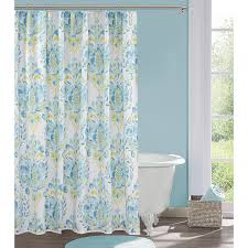 Blue And Yellow Shower Curtains Decorating Bed Bath Beyond Shower Curtains Bed Bath Decoratings