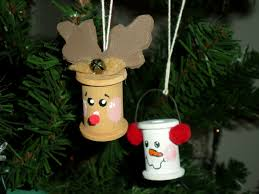 easy homemade christmas ornaments craft ideas