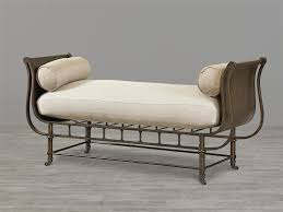 Benches At End Of Bed by Furniture Antique Brown Painted Metal End Of Bed Storage Bench