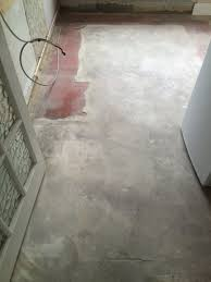 removing cement screed from a quarry tiled floor quarry tiled