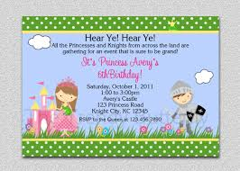 birthday party rsvp princess knight party invitation princess knight birthday