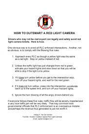 avoiding red light camera tickets houston coalition against red light cameras largeposter
