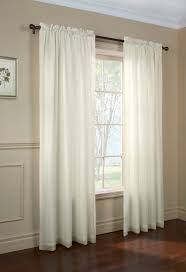 And White Curtains