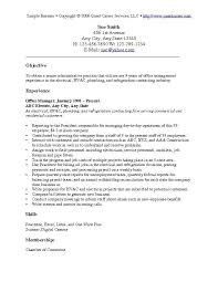 resume objective objective exles for resume thisisantler