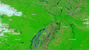 Illinois Flood Maps by Mississippi River Cresting In Flood Hit Illinois Southern