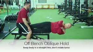 bench oblique bench decline russian twist oblique bench