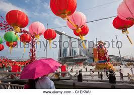 Tamil New Year Bay Decoration river hongbao decorations for chinese new year celebrations at