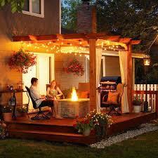 Backyard Lighting Ideas Outdoor Lighting Ideas Good Patio Chairs As Patio String Lighting