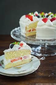 japanese strawberry shortcake 苺のショートケーキ u2022 just one cookbook