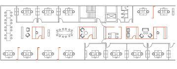 open office floor plan of floor plans