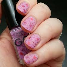 strawberry fields forever nail art tutorial let u0027s begin nails gg indie polish swatch and review