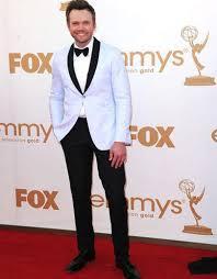 Celebrity Clothing For Men New Arrival White Wedding Suits For Men Tuxedos Black Satin Shawl