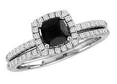 Black Diamond Wedding Ring Sets by Forever Bride 1 3 Carat Diamond Bridal Set 239 Available At