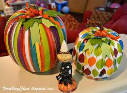 pumpkin craft decoupaged pumpkins using decorative napkins
