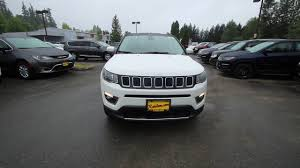 white jeep compass 2017 jeep compass limited white ht636231 redmond seattle