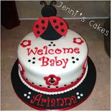 ladybug baby shower cakes ideas party xyz