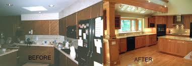 70s kitchen remodel before and after affordable architecture for