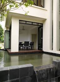 Modern House In Country Exterior Aspect Of The Lotus House In Malaysia By 29 Design