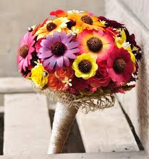 bouquet for wedding autumn wooden sunflowers bouquet for wedding or home decoration