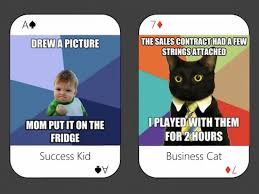 Cards Meme - meme playing cards project seeking funds on kickstarter the mary sue