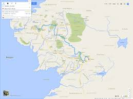 Google Maps Api Blank Map by If Frodo U0026 Sam Had Google Maps Of Middle Earth Brilliant Maps