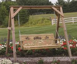 porch swing frame frame decorations