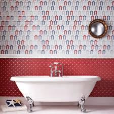 funky bathroom wallpaper ideas bathroom interior fish wallpaper ocean themed bathroom ideas