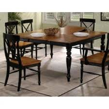 Square Dining Room Table With Leaf 8 Seat Square Dining Table Foter