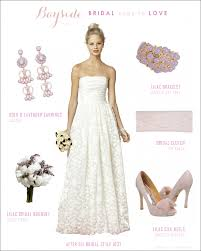 wedding dress accessories lace wedding dress with lavender accessories