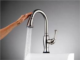 Delta Touch Kitchen Faucets by The Boldest Look Of Kohler Sensate Touchless Kitchen Faucet In